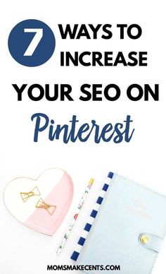 Did you know Pinterest is really a search engine? And if you use it the right way you can drive a flood of traffic to your blog? Click here to learn about 7 different places you can incorporate your keywords on Pinterest to make your pins stand out!