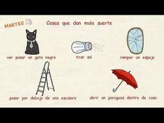 Aprender español: Supersticiones (nivel intermedio) - YouTube