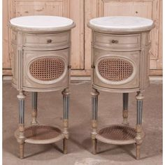 antique furniture antique bedroom furniture nightstands pair antique french louis xvi painted nightstands