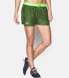 NEW Womens Under Armour Play Up Sports Athletic Shorts Heat Gear Large NWT Bin 1 #UnderArmour #Shorts