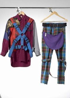 Bondage Trousers and Westwood loin cloth gesture