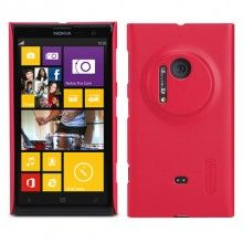 Coque Lumia 1020 Nillkin - Ultra Slim Frosted Rouge  12,99 €