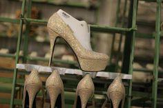 Very big and high heel shoe size!