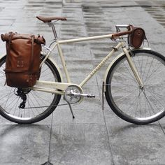 Our products are made of full grain Vegetable-tanned leather and hand dyed. Made by cyclist artisans for cycling enthusiasts Bicycle Types, Leather Bicycle, Vegetable Tanned Leather, Bicycles, Cycling, Artisan, Products, Biking, Types Of Bicycles