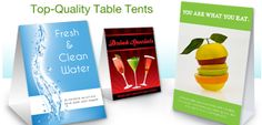 Looking For Cheap Table Tents with Impeccable Designs? Table Tents, Cards, Design, Maps, Playing Cards