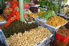 Fruits in the Farmers Market (Palengke )... Cebu Philippines