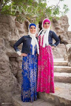 maxi hijab dresses, Naima Kamel Fancy designs http://www.justtrendygirls.com/naima-kamel-fancy-designs/