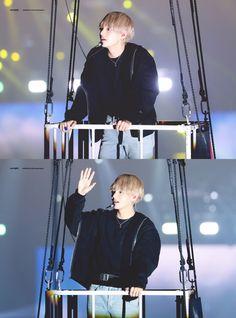 ( ˃̶᷇ ‧̫ ˂̶᷆ ) [❤️] 171210 The Wings Tour The Final in Seoul D-3 // #V ☆彡