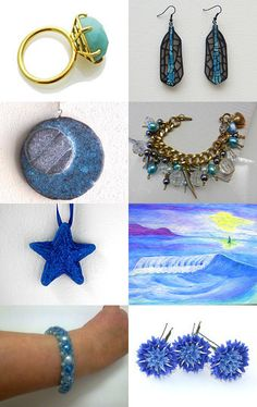 Turquoise by MARIA JOSE SORIANO SAEZ on Etsy--Pinned with TreasuryPin.com