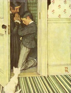 Image result for bodybuilding by norman rockwell
