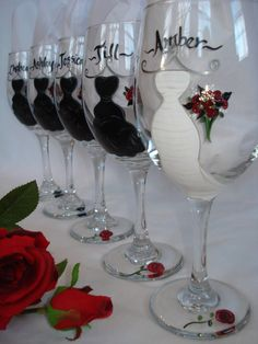 For the head table at the reception? Cute!!