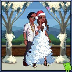 Wedding anniversary. ....I so much love this game #kimkardashianhollywood