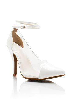 White Heels For Women | Tsaa Heel