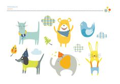 Kids Illustrations by SOPHIAN , via Behance