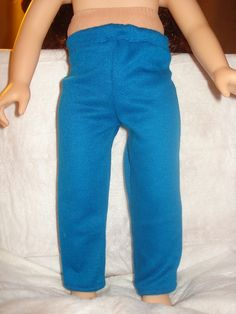 Royal blue leggings for American Girl Dolls - ag137. $8.95, via Etsy.