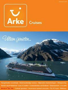 Arke Cruises: Sterk> Duidelijk waar de brochure over gaat. Zwak> Vrij simpel.