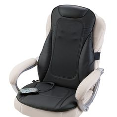 i-need® Shiatsu Seat Topper with Heat at Brookstone.