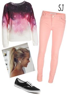 """""""Cosmic Casual"""" by shutch1996 on Polyvore"""