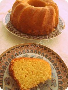 Çay saatleriniz için mis gibi Mısır Unlu Limonlu Kek...