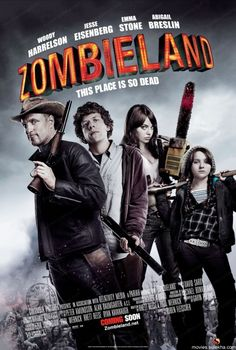 Zombie Land, Best Comedy Zombie Movies ever, definitely one of my favorite zombie movies!