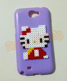 Hello Kiity hama perler beads by Love Cupcoonka - www.facebook.com/hamabeadshobby