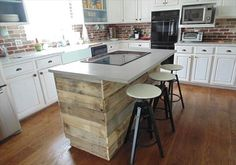 The 487 Best Pallet Kitchen Island Images On Pinterest