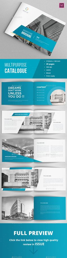 Modern Architecture Brochure Template InDesign INDD. Download here: http://graphicriver.net/item/modern-architecture-brochure-/16042051?ref=ksioks
