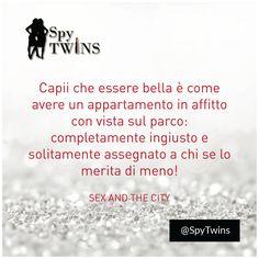 I consigli di Carrie Bradshaw sempre top! #spytwins #spyquotes #motivation #quotes #inspiration #carriebradshaw #sexinthecity