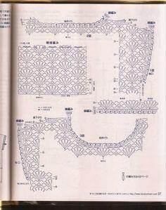 Kira scheme crochet: Scheme crochet no. 352