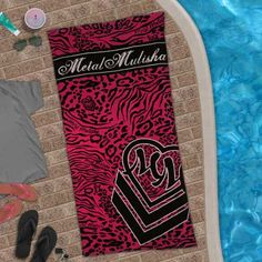 <3 metal mulisha- lethal beach towel for summer I have it and I love it