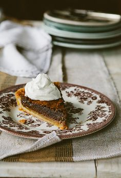 maple syrup pie recipe
