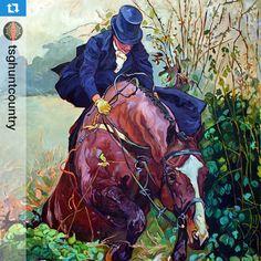 Meath Sidesaddle Portrait, II' by Gail Dee Guirreri Maslyk Equestrian Art, Vintage Art, Animal Art, Art, Artist, Hunting Art, Artwork, Horse Painting, Painting