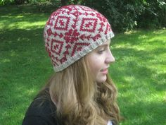 My Rose Red free Ravelry pattern.  Named after her favorite Stephen King movie.