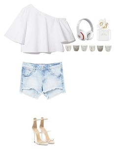 """""""Untitled #488"""" by dutchfashionlover ❤ liked on Polyvore featuring MANGO, Giuseppe Zanotti, Beats by Dr. Dre, Marc Jacobs and Jayson Home"""