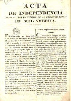 Blog El Escritorio de la Seño Silvina: Independencia Argentina