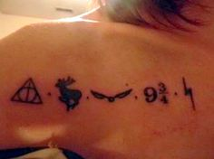 Harry Potter tattoos....I think this one would be really cool... however I just think it should have been done a bit better.. *unpopular opinions*