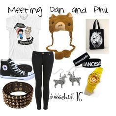 """""""Meeting Dan and Phil"""" by outfitsonrequest on Polyvore"""