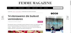 14 etenswaren die buikvet verminderen | Femme Magazine