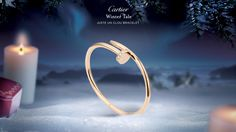 """JUSTE UN CLOU BRACELET PINK GOLD, DIAMONDS - by Cartier  An iconic piece of jewelry created in the 70s, it is the expression of a rebellious nature and the reflection of   self-belief."""