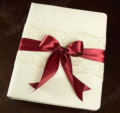 Chantilly Lace Custom Memory Book