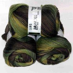 Jawoll Magic 6-fach Tannenwald von Lang Yarns - Heikes Handgewebtes: Traumhafte Wolle für Socken und noch viel mehr - dreamlike wool for socks and much more