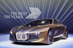 BMWグループ創立100周年 - コンセプトカー「BMW VISION NEXT 100」をアンベール - えん乗り