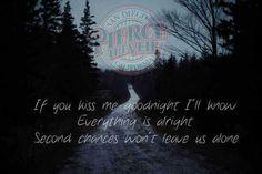 Pierce the Veil lyrics kissing in cars