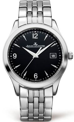 @jlcwatches Master Control Date #add-content #bezel-fixed #bracelet-strap-steel #brand-jaeger-lecoultre #case-depth-8-8mm #case-material-steel #case-width-39mm #date-yes #delivery-timescale-1-2-weeks #dial-colour-black #gender-mens #luxury #movement-autom