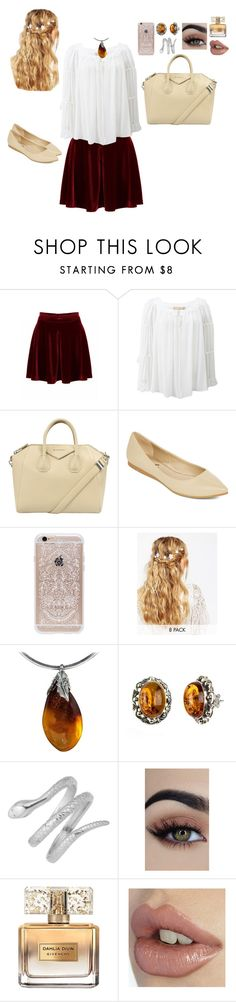 """""""Medieval cutie"""" by catty-glitter-girl on Polyvore featuring Michael Kors, Givenchy, Diba, Rifle Paper Co and ASOS"""
