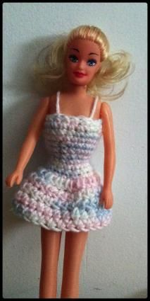 Free Crochet Barbie Clothing Patterns