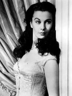 Vivian Leigh...there should be a little Scarlett in all of us