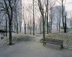 Застывшая утопическая мечта: Рикардо Бофилл и его постмоденистский парижский жилой комплекс Нуази-ле-Гран (20 фото) - Muz4in.Net