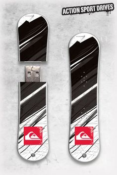 QS SnowDrive : Carbon Night USB Flash Drive // Action Sport Drives have teamed up with the best snowboard companies in the industry to create the original USB Flash Drive snowboard. We've combined this innovative design with the graphics like the Carbon Night Model.    Now you can get your favorite snowboard graphics, and transfer files in style.