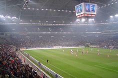 FC Schalke 04 - Veltins-Arena Gelsenkirchen Ecuador, Hockey, Serbia Travel, Football Stadiums, European Vacation, European Football, Vacation Packages, Germany, Tours